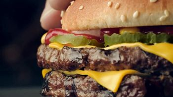 Burger King Double Quarter Pound King TV Spot, 'Rest in Flames' - Thumbnail 9