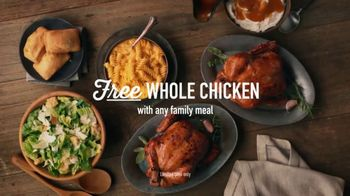 Boston Market TV Spot, 'Free Whole Rotisserie Chicken With Family Meal' - Thumbnail 8