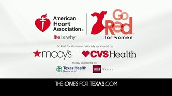 American Heart Association TV Spot, 'CBS 11: 2018 Go Red for Women' - Thumbnail 10