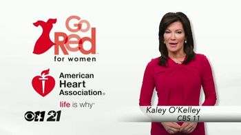 American Heart Association TV Spot, 'CBS 11: 2018 Go Red for Women' - Thumbnail 2