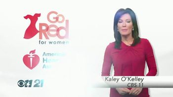 American Heart Association TV Spot, 'CBS 11: 2018 Go Red for Women' - Thumbnail 3