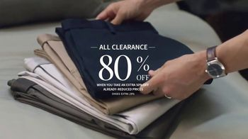 JoS. A. Bank Super Saturday Sale TV Spot, 'Clearance Items and Suits' - Thumbnail 3