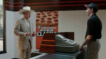 Little Caesars Pizza Hot-N-Ready Classic TV Spot, 'No Wheeling, No Dealing' - Thumbnail 2