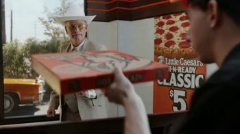 Little Caesars Pizza Hot-N-Ready Classic TV Spot, 'No Wheeling, No Dealing' - Thumbnail 8