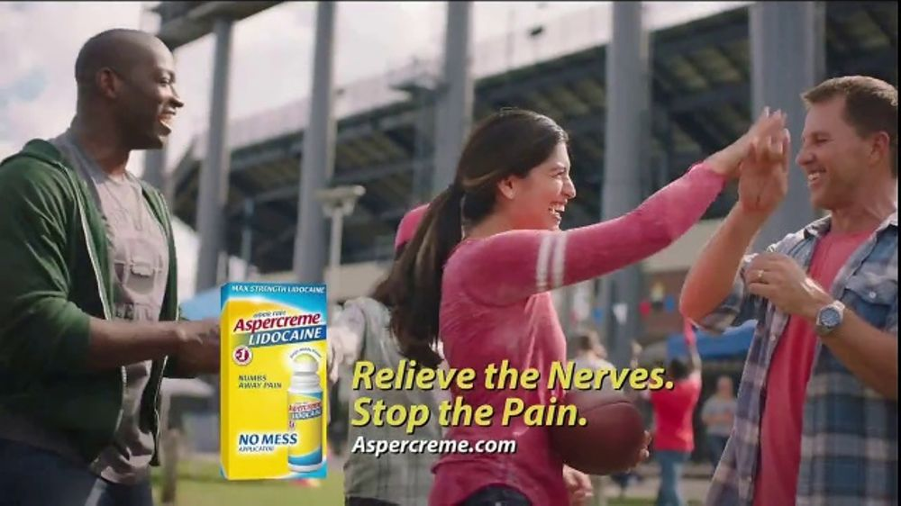 Aspercreme Lidocaine No Mess TV Commercial, 'Tailgating'
