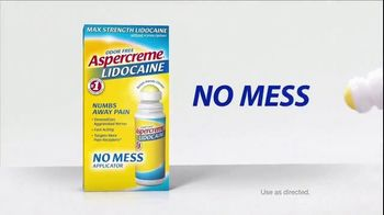 Aspercreme Lidocaine No Mess TV Spot, 'Tailgating' - Thumbnail 4