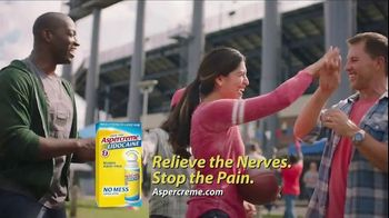 Aspercreme Lidocaine No Mess TV Spot, 'Tailgating'