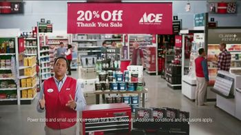 ACE Hardware Thank You Sale TV Spot, 'J.D. Power: Customer Satisfaction' - Thumbnail 5