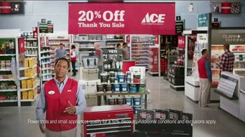 ACE Hardware Thank You Sale TV Spot, 'J.D. Power: Customer Satisfaction' - Thumbnail 6