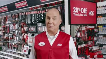 ACE Hardware Thank You Sale TV Spot, 'J.D. Power: Customer Satisfaction' - Thumbnail 7