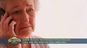 John Hagee Ministries Prayer Line TV Spot, 'The Hardships of Life'