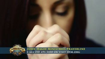 John Hagee Ministries Prayer Line TV Spot, 'The Hardships of Life' - Thumbnail 2