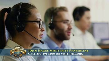 John Hagee Ministries Prayer Line TV Spot, 'The Hardships of Life' - Thumbnail 3