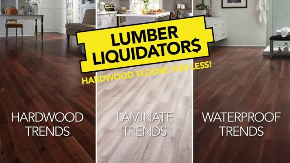 Lumber Liquidators Tv Commercial Laminate Deals February Ispot