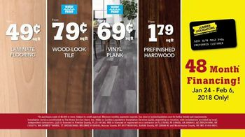 Lumber Liquidators TV Spot, 'Laminate Deals: February' - Thumbnail 10