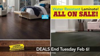 Lumber Liquidators TV Spot, 'Laminate Deals: February'