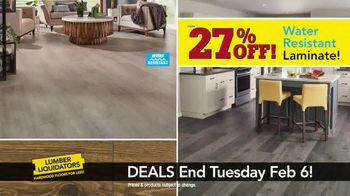 Lumber Liquidators TV Spot, 'Laminate Deals: February' - Thumbnail 4