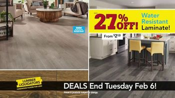 Lumber Liquidators TV Spot, 'Laminate Deals: February' - Thumbnail 5