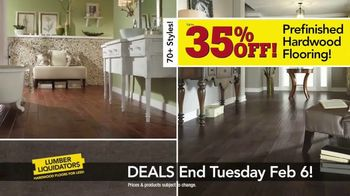 Lumber Liquidators TV Spot, 'Laminate Deals: February' - Thumbnail 8