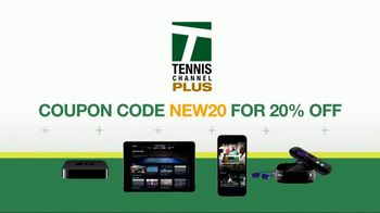 Tennis Channel Plus TV Spot, 'Get More: App and Coupon' - Thumbnail 9