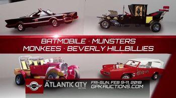 GPK Auctions TV Spot, '2018 Atlantic City Auction & Car Show: Gear Up'