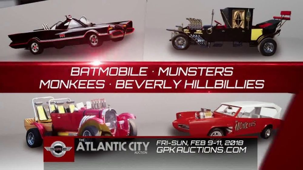 GPK Auctions TV Commercial Atlantic City Auction Car Show - Atlantic city car show
