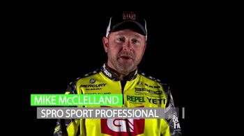 SPRO TV Spot, 'Fishing Is Competition' Featuring Mike McClelland - Thumbnail 2