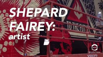 Stand for the Arts TV Spot, 'Shepard Fairey'