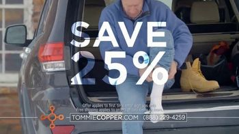 Tommie Copper Compression Socks TV Spot, 'Feel Better' - Thumbnail 7