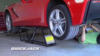 QuickJack TV Spot, 'Seconds Flat'