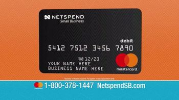 NetSpend Prepaid Small Business Mastercard TV Spot, 'Let NetSpend Help' - Thumbnail 10