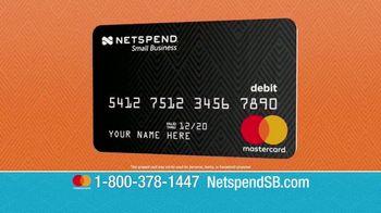 NetSpend Prepaid Small Business Mastercard TV Spot, 'Let NetSpend Help' - Thumbnail 2