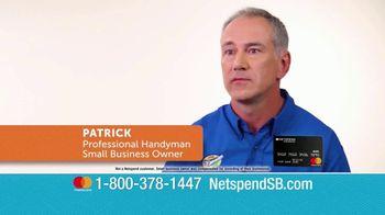 NetSpend Prepaid Small Business Mastercard TV Spot, 'Let NetSpend Help' - Thumbnail 3
