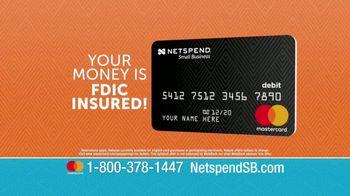 NetSpend Prepaid Small Business Mastercard TV Spot, 'Let NetSpend Help' - Thumbnail 7