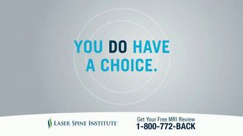 Laser Spine Institute TV Spot, 'Get Your Life Back' - Thumbnail 1