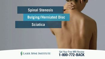Laser Spine Institute TV Spot, 'Get Your Life Back' - Thumbnail 4