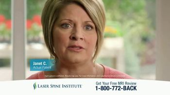 Laser Spine Institute TV Spot, 'Get Your Life Back' - Thumbnail 7