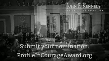 John F. Kennedy Presidential Foundation TV Spot, 'Profile in Courage Award' - Thumbnail 9