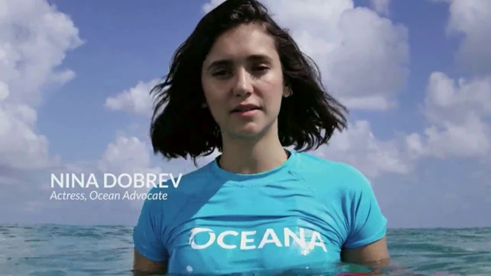 oceana tv commercial a fighting chance feat nina dobrev ispot tv