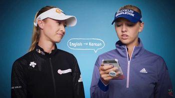 LPGA TV Spot, 'Language' Featuring So Yeon Ryu, Jessica Korda - Thumbnail 7