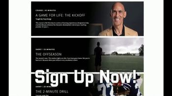 Pro Football Hall of Fame TV Spot, 'The Next Generation: Game For Life' - Thumbnail 6