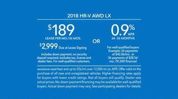 2018 Honda HR-V TV Spot, 'Versatility' [T2] - Thumbnail 8