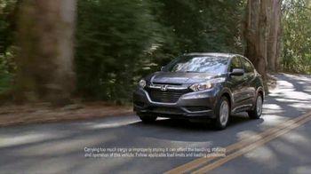 2018 Honda HR-V TV Spot, 'Versatility' [T2] - Thumbnail 3