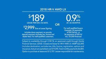 2018 Honda HR-V TV Spot, 'Versatility' [T2] - Thumbnail 7
