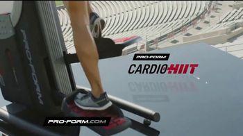 Pro-Form Cardio HIIT Trainer TV Spot, 'Get Fit' - Thumbnail 3