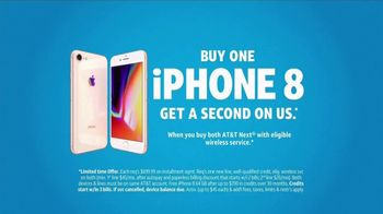 AT&T Wireless TV Spot, 'iPhone 8 on Us' - Thumbnail 9
