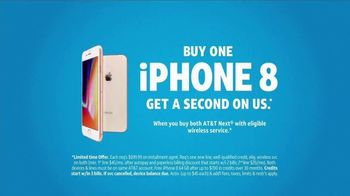 AT&T Wireless TV Spot, 'iPhone 8 on Us' - Thumbnail 8