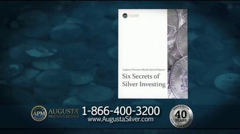 Augusta Precious Metals TV Spot, 'The Time to Invest in Silver' - Thumbnail 4