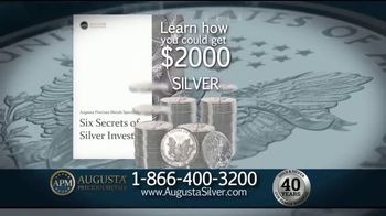 Augusta Precious Metals TV Spot, 'The Time to Invest in Silver' - Thumbnail 5