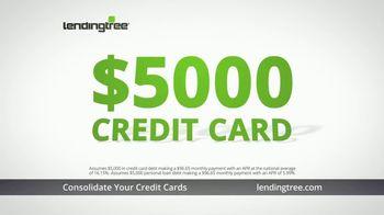 LendingTree TV Spot, 'Personal Loans: Holiday Credit Card Debt' - Thumbnail 4